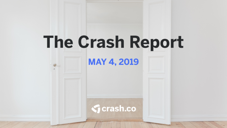 The Crash Report, May 4, 2019