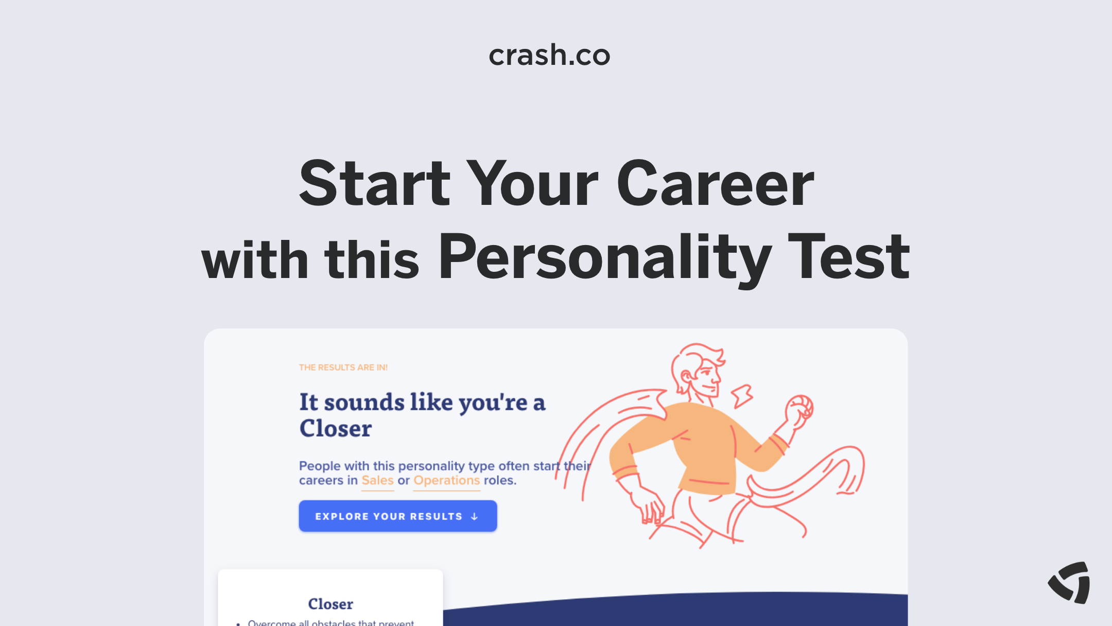 Start Your Career with this Personality Test